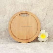 Economical Round Wooden Pizza Serving Pan,Beech Pizza Stone, Pizza Wooden Cutting Board