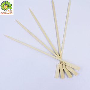 Hot selling Food grade healthy bamboo BBQ skewer