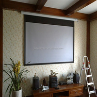 Electronic projector screen\Automatic projection screens