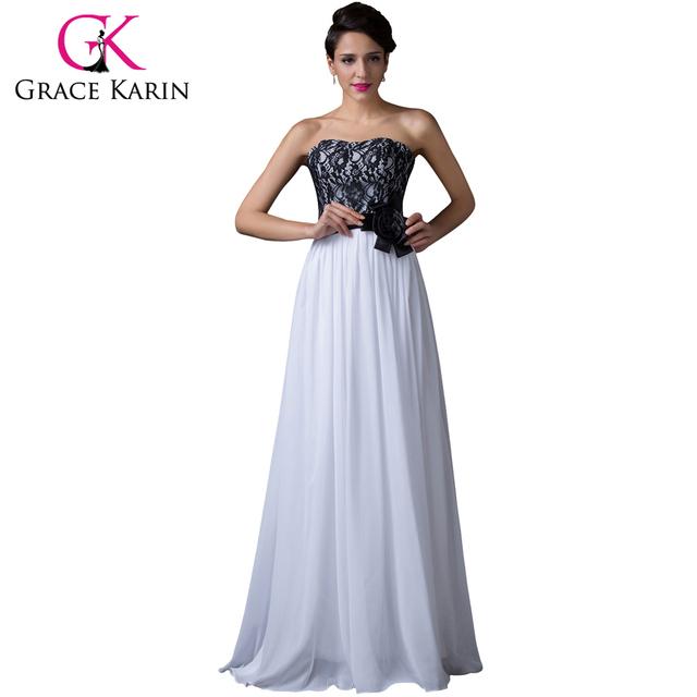 25fdacd5a54 2016 дизайнер белые кружева шифон длинные вечерние платья без бретелек  длинный формальные .