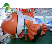 Newest Design Giant Cute Inflatable Goldfish / Giant Inflatable fish