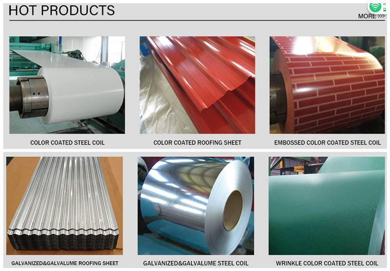 PPGI Roofing sheet Metal specification