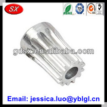 ISO/ROHS/SGS passed high precise small module 0.8 aluminum drive pinion gear