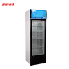 368L New Fan Cooling Design Upright Single Glass Door Display Showcase Chiller