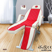 2015 electric adjustable massage table&electric facial spa bed&massage facial bed portable (KZM-8805)