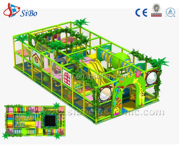 GM0 soft Indoor jungle gym for Baby play area
