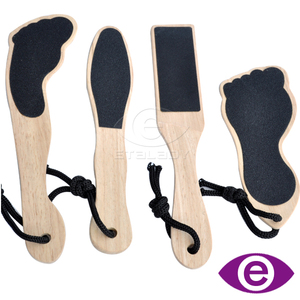 Wooden Pedicure Foot File