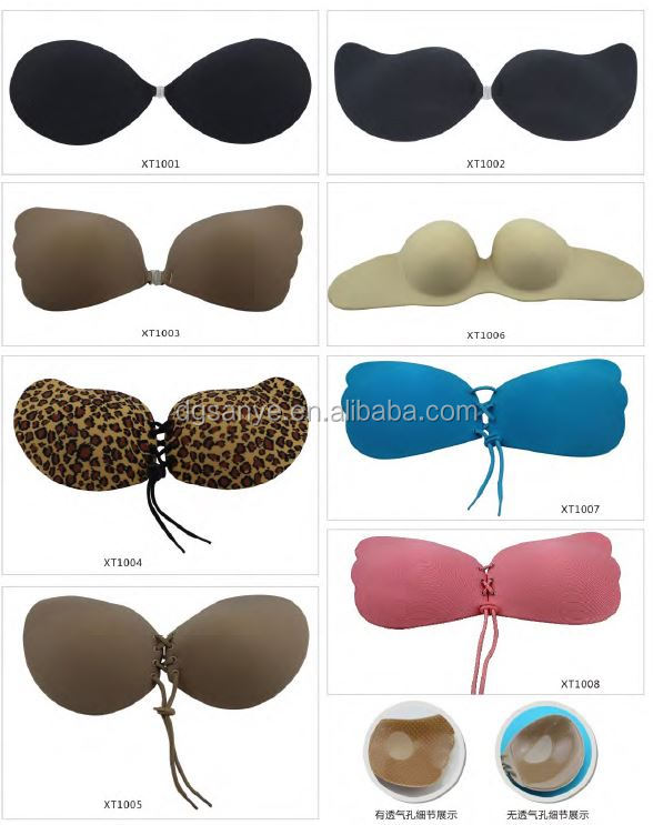 Women Transparent Thick Silicone Gel Bra Inserts Breast Pads Large Chest Enhancers for Swimsuits/Bikini