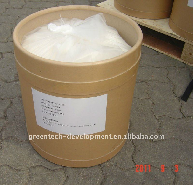 Chondroitin sulfate porcine Min.90% mucopolysaccharide -Hot Sell GMP Factory