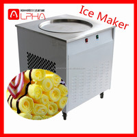 Manufacturer ice cream rolled cone with large capacity /ice cream cold plate machine