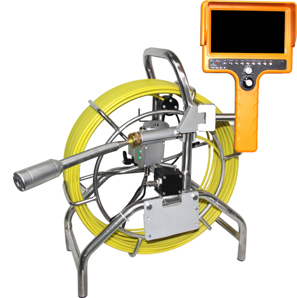 60m cable underwater video inspection camer with handheld monitor