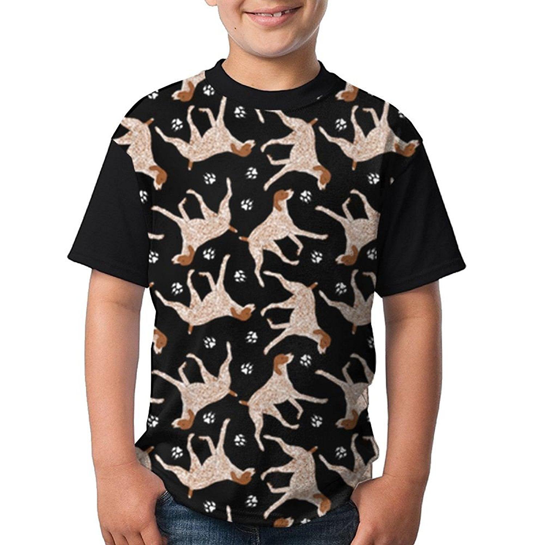 1c738d215 Get Quotations · SOURCE POINT Boy's German Shepherd Raglan Tshirts  Breathable Baseball Tee T-Shirt Fashion Printing Tee