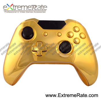 Replacement Glossy Chrome Gold Controller Shell For Xbox One 1 Console  Housing Abxy Guide Home Rt Lt Rb Lb Start Back Buttons - Buy Controller  Shell