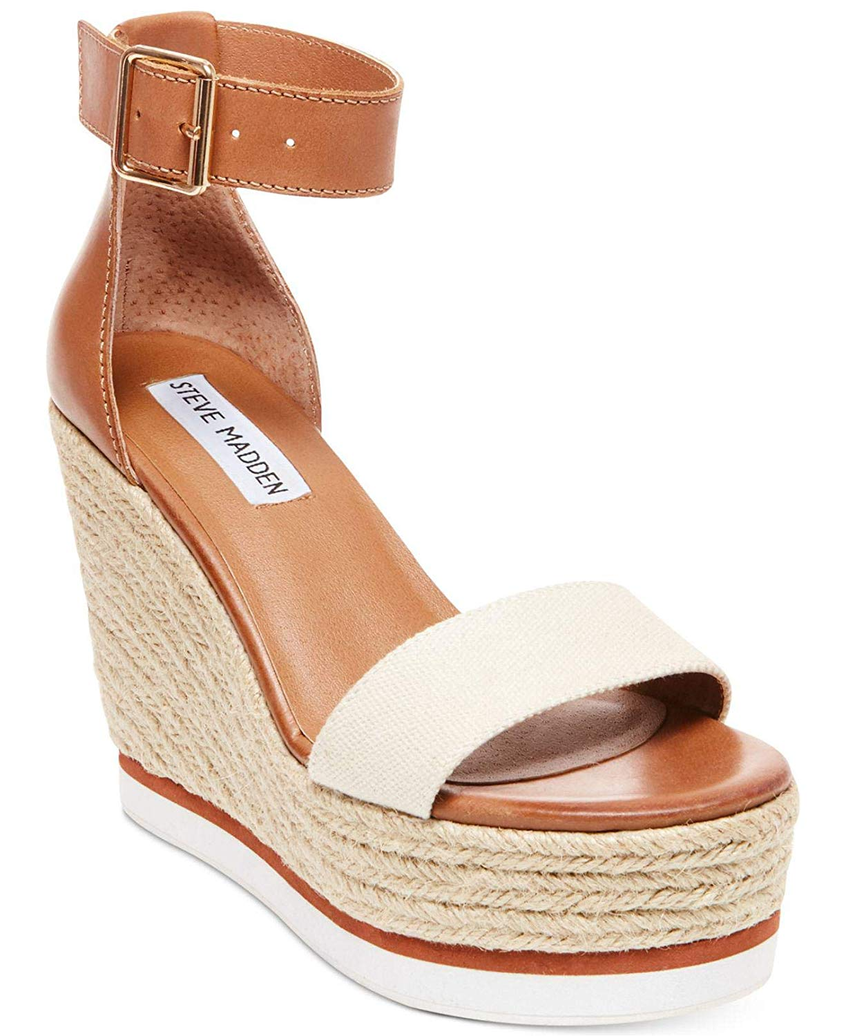 535fcfad4ae0 Get Quotations · Steve Madden Womens Veda Open Toe Special Occasion  Platform Sandals
