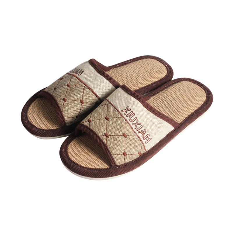 Men S Shoes Open Toe Canvas Upper Linen Insole Comfort