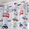 100% polyester fabric 3d printing kids bedroom blackout curtain