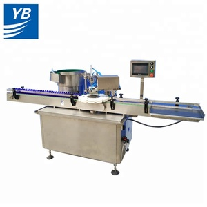 Machine manufactures automatic capping sealing machine bottle capper