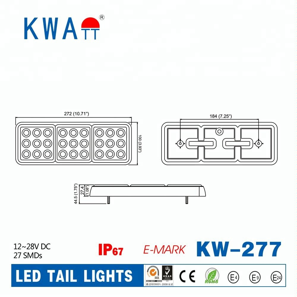 China Led Stop Turn Tail Light Wholesale Alibaba Dot Trailer Diagram