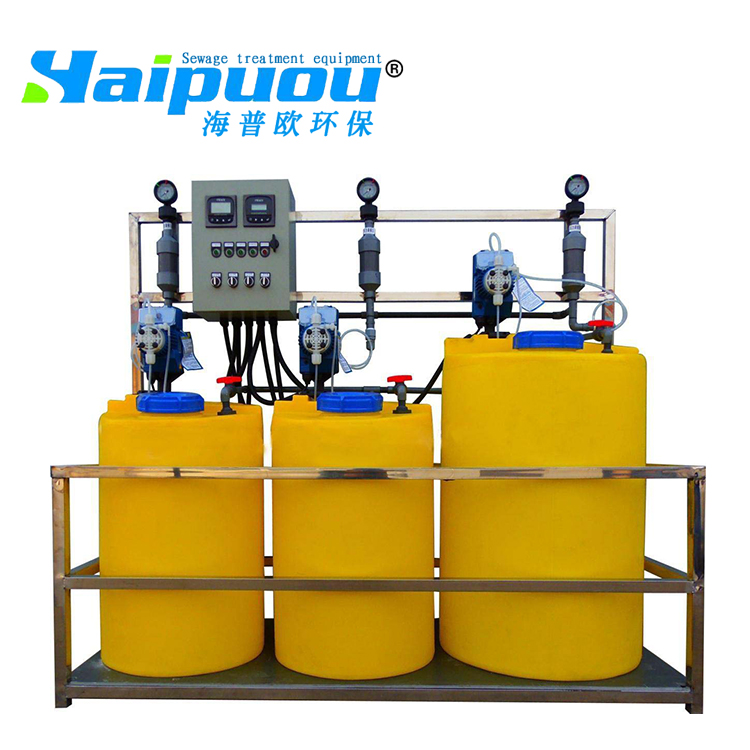 Dosing equipment Water filter agent used waste water treatment equipment