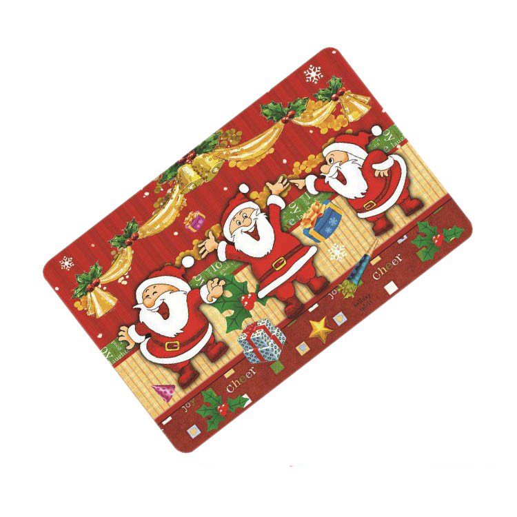 Factory price wholesale extra large 3Dplacemats for Christmas