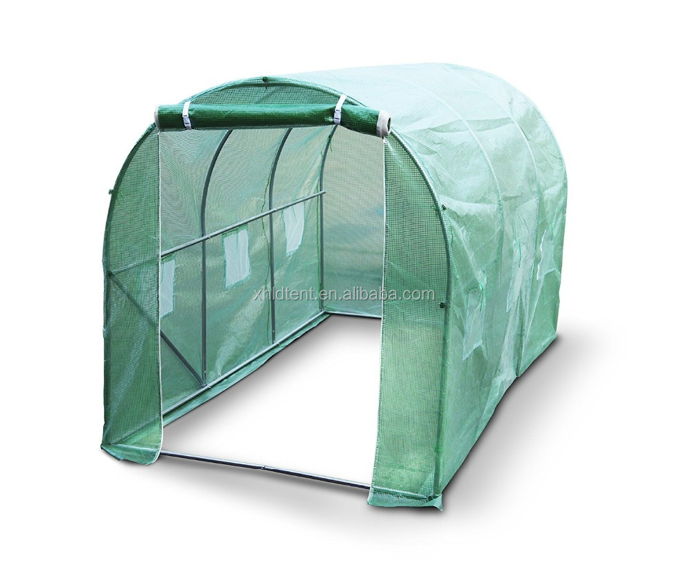 Versatile Pe/pvc Greenhouse With Hydroponic System