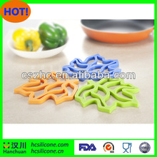 Brand new novelty design kitchen silicon mats with high quality