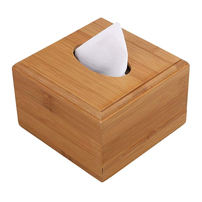 High Quality wooden tissue holder box