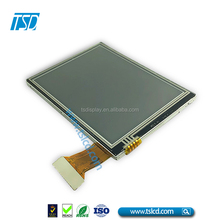 sunlight readable 3.5 transflective tft touch lcd display screen