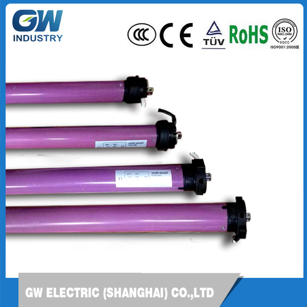 GW single phase ac dc automatic 120nm tubular motor