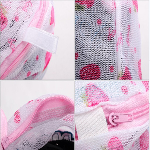 Bra/underwear washing bag for wash machine