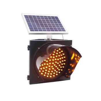 Portable Mobile Mini Solar Powered Led Traffic Light For Traffic