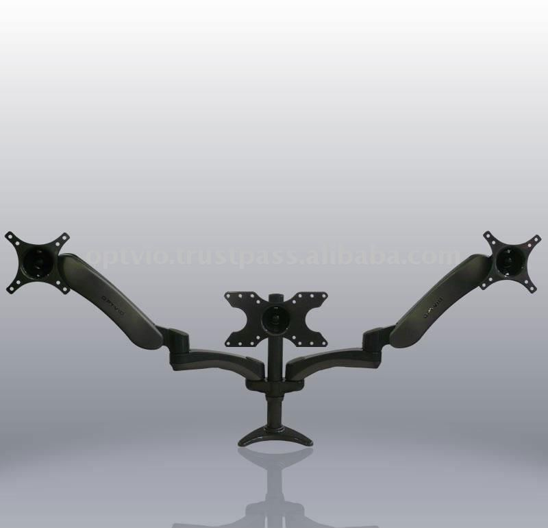 LCD Monitor Articulating Desk Mount (Triple)