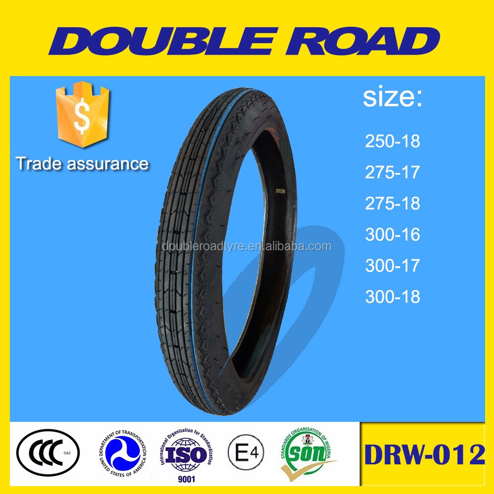 Wholesale motorcycle tire high speed tire nylon motorcycle tire 250-18