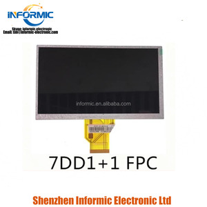 7 inch display LCD screen AT070TN90 V.1 AT070TN92 V.X 7DD1+1 FPC