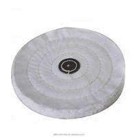 Flannel corrugated airway buffing wheel