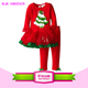 2015 Hot Sale Holiday Style Boutique Baby Girls Cheap Price New Years Clothes Cute Baby Christmas Outfits