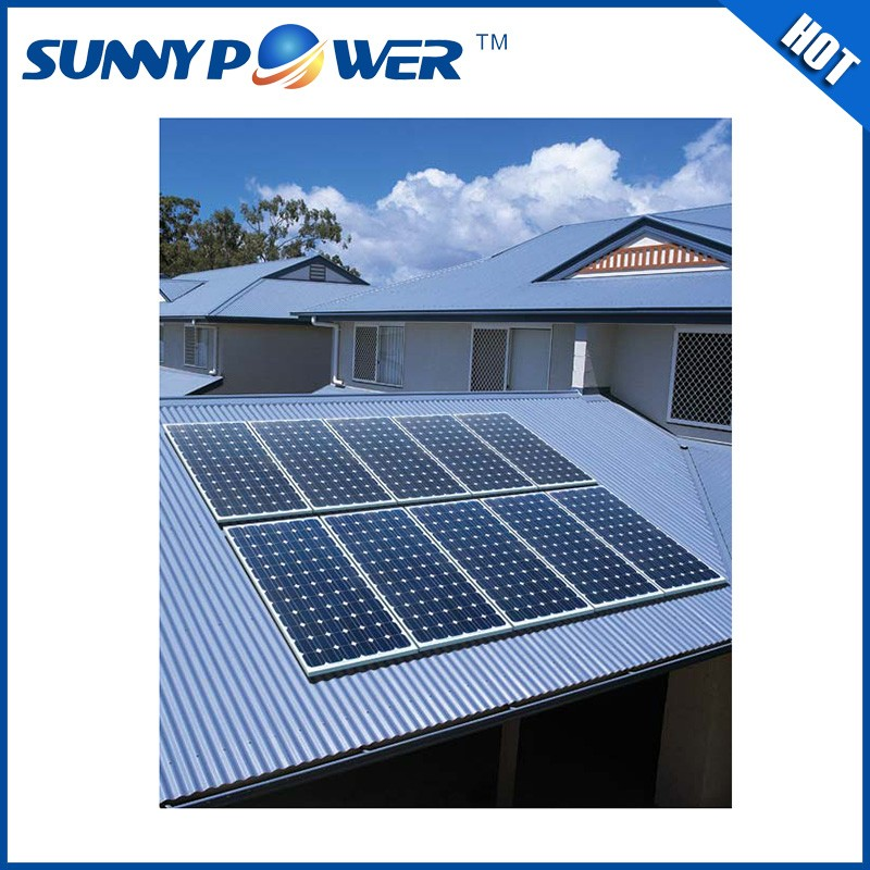 china wholesale 3kw house solar sytem grid / solar energy storage system 3kw