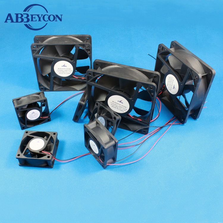large air flow low voltage fan 12v ventilator 120*120*38mm new arrival 220v extractor fan
