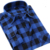 Mens Casual Plaid Shirts Long Sleeve Slim Fit Comfort Soft Flannel Cotton Shirt Leisure Styles Man Clothes
