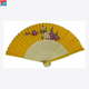 Customized manual rainbow hand fan sublimation hand fan