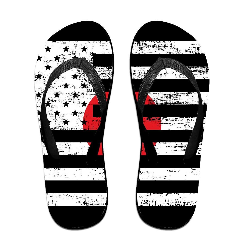 a5160de2f Get Quotations · Tailing Flip Flops Canada Japan Flag Unisex Trendy Print  Slippers Beach Sandal