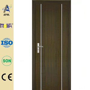 Zhejiang special desgin melamine mdf cabinet door with pvc coated