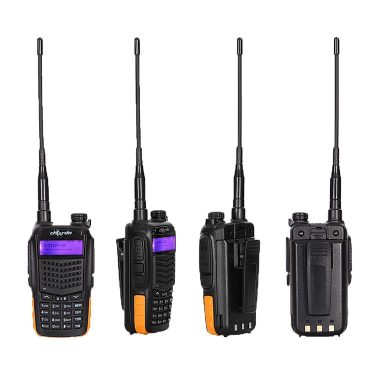 5 w UHF400-470VMHz हाथ में woki toki 2200 mAh उच्च-क्षमता 2 तरह रेडियो with128 चैनलों से chierda