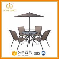 Andorra Bronze Metal 4 Seater Garden Furniture Set