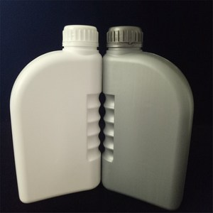 Empty Gallon Plastic Container With Handle HDPE 0.5L 1L 2L Motor Engine Oil Plastic Bottle for Oil Lubricant Encapsulation