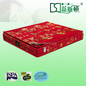 A982 chinese style firm mattress chinese bed mattress mattress with pillow topper