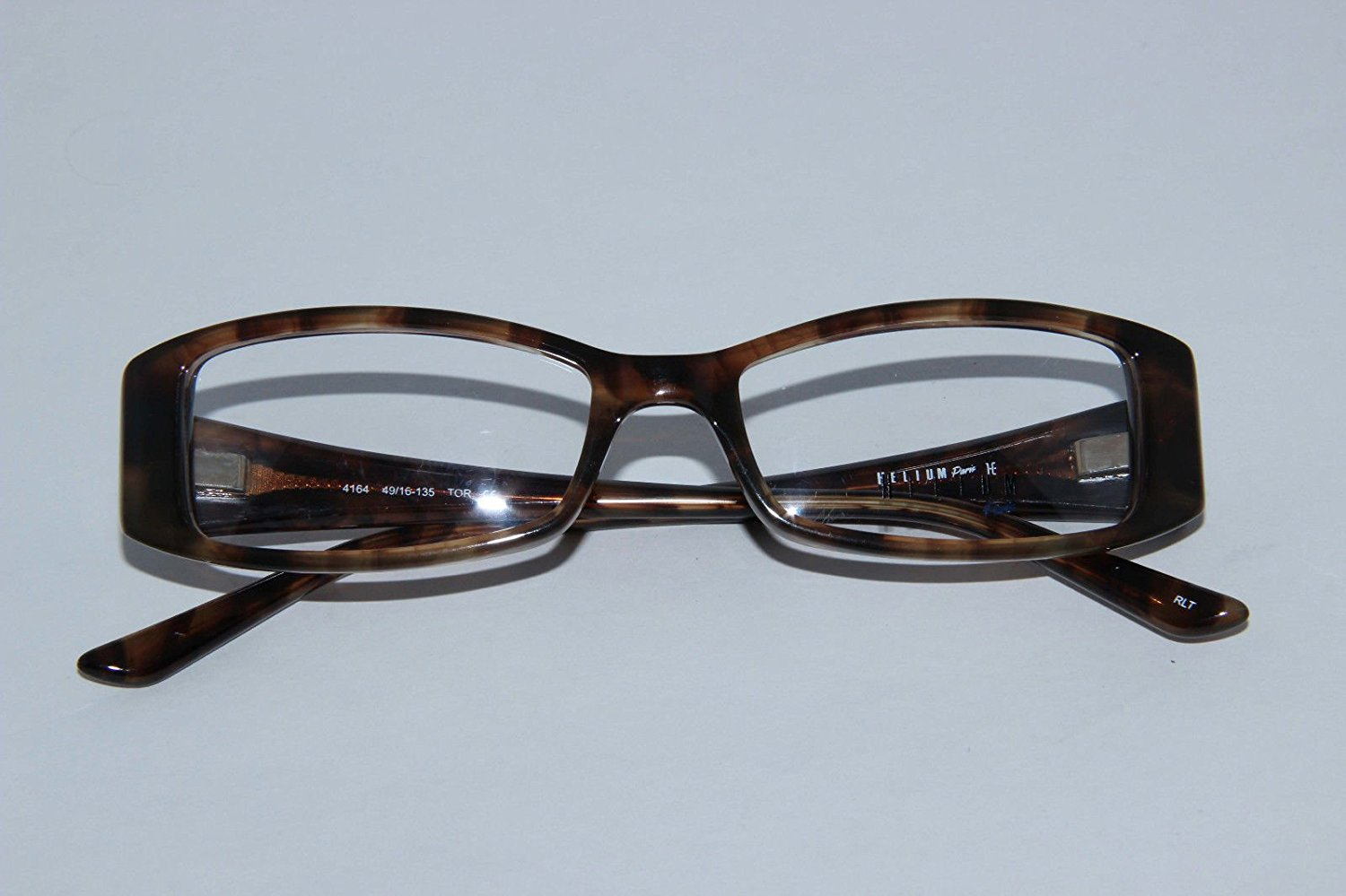 fc11f8e9f11 Get Quotations · Helium Paris Womens Eyeglasses 4164 Tortoise Optical Frame  Rhinestones