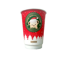 Coffee Cup Factory Paper Cup Fan Coated Pe,Recyclable Cow