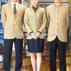 HOT tailored classic design hotel staff uniform