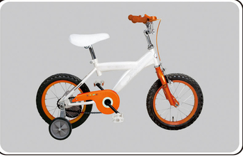 Kingbike New Design Hot Sale White And Orange Balance Bike 12 ...